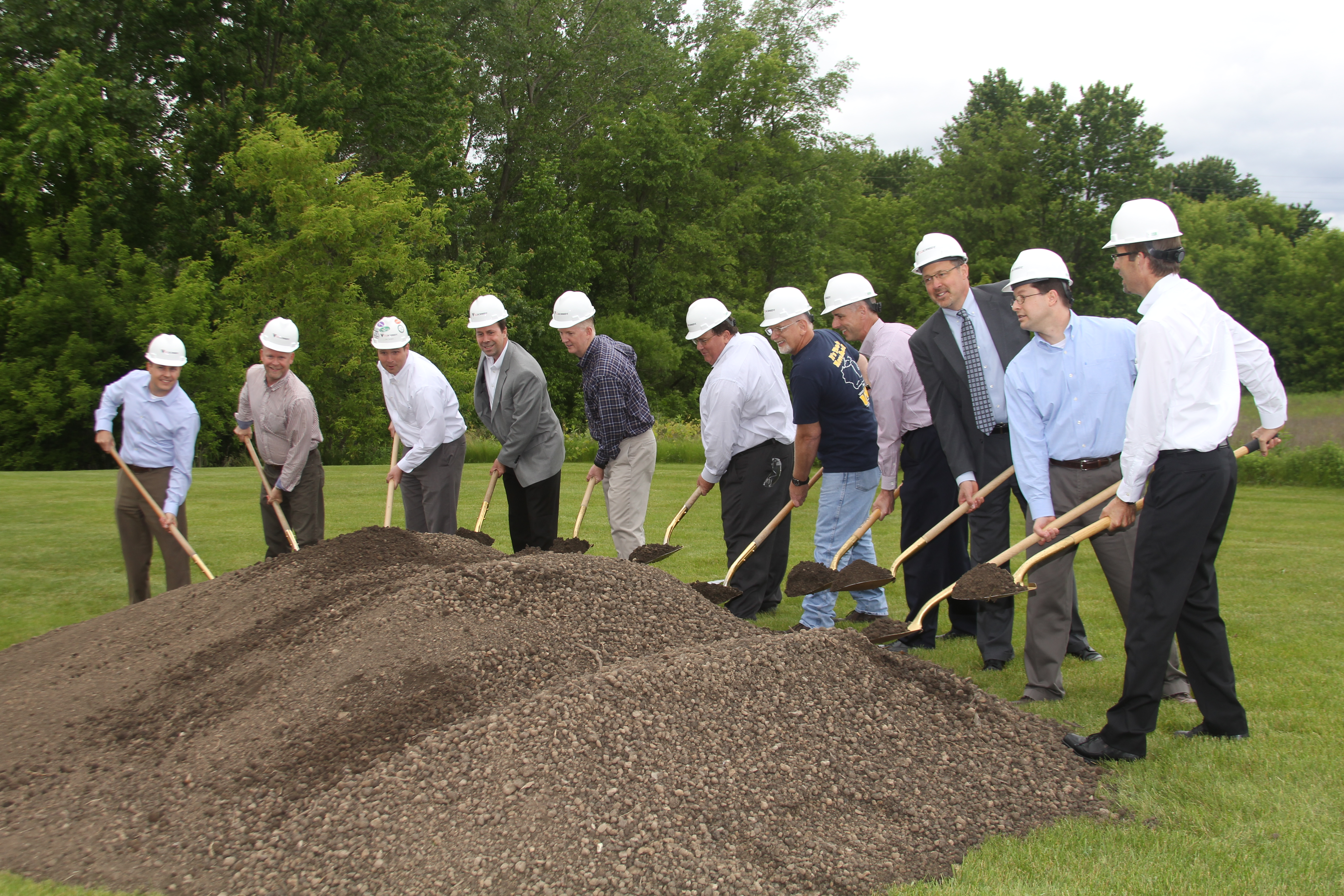 West Bend Expansion Groundbreaking